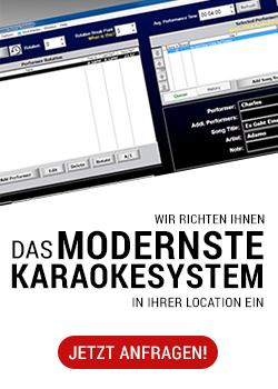 Wir richten Ihnen das modernster Karaokesystem in Ihrer Location ein!