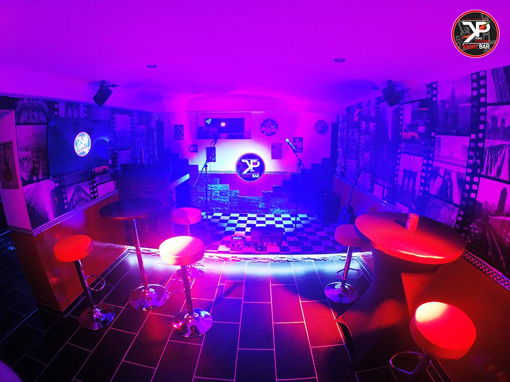 Karaoke Bühne